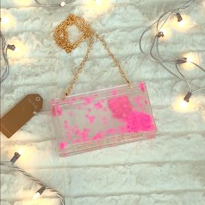 Handbags - Star Clusters Clear Purse